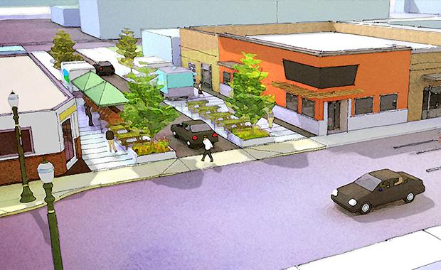 Halsey Weidler Streetscape Plan, Portland, Oregon